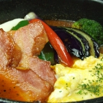 道産豚の角煮と野菜のカリー