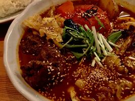 ラムと野菜のスープカリー